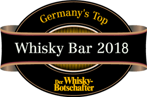 3ter Platz im Germanys best Whisky-Bar Award 2018.